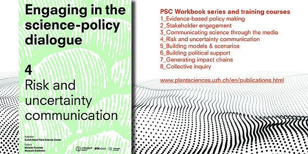 Science and Policy work book cover PSC
