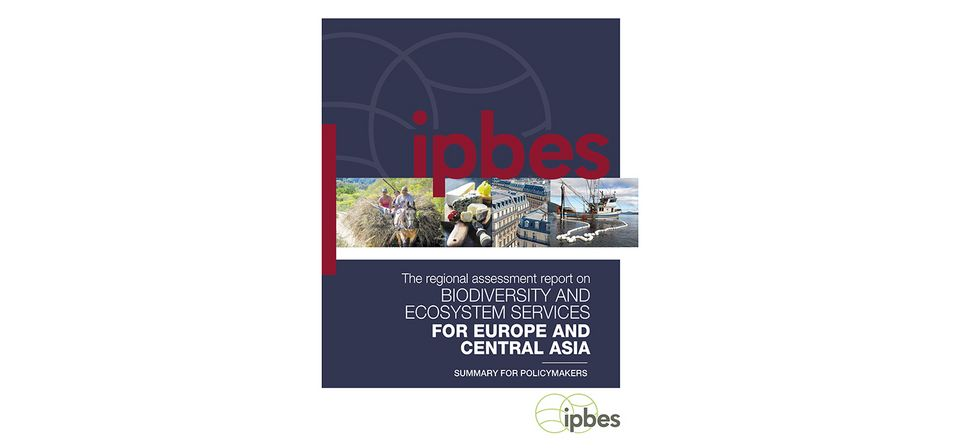 IPBES biodiversity and ecosystem services for Europe and Central Asia for policymakers